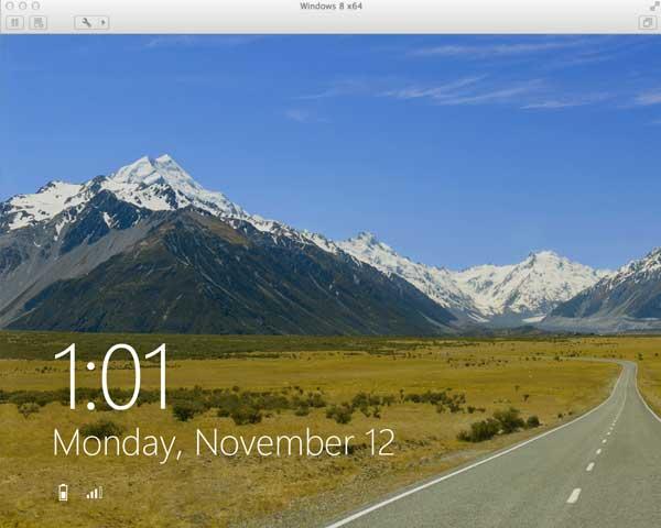 Install Windows 8 on Mac using VMware Fusion
