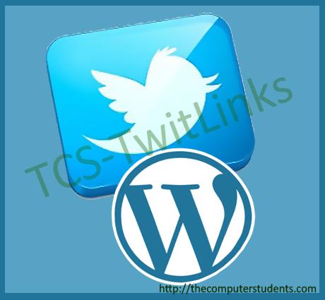 TCS-Twitlinks Plugin